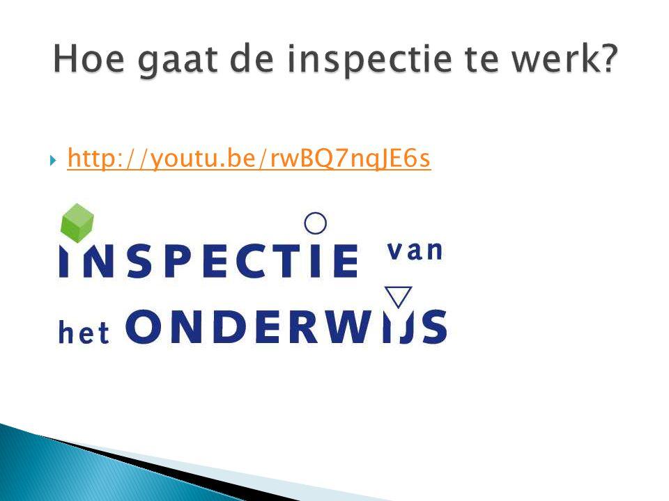  Gesprek team / bestuur / inspectie.