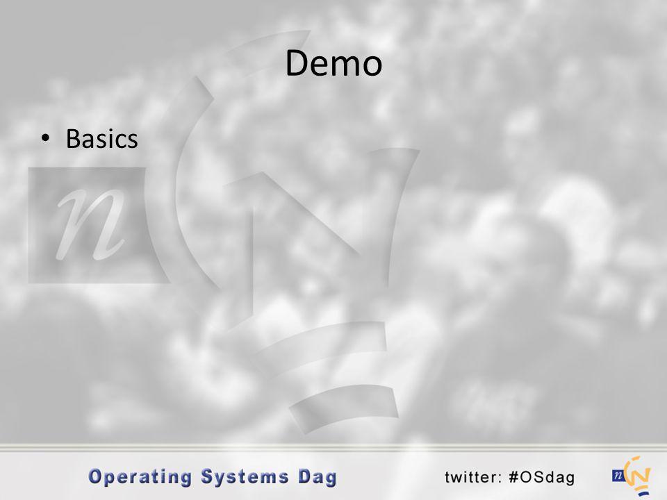 Demo • Basics