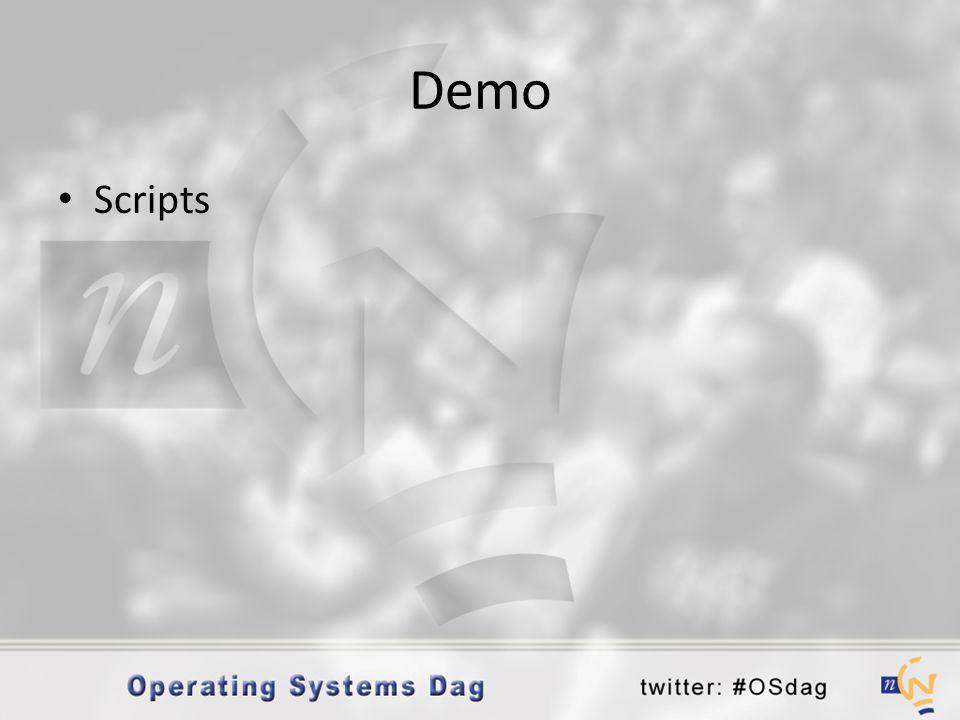 Demo • Scripts