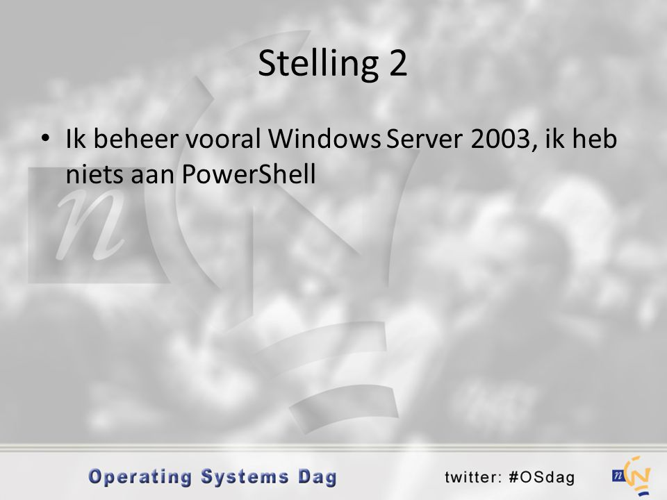 Werken met modules • %SystemRoot%\system32\WindowsPowerShel l\v1.0\powershell.exe -NoExit - ImportSystemModules