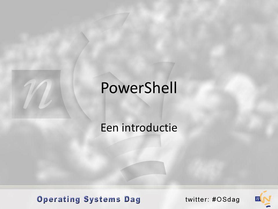 PowerShell Een introductie