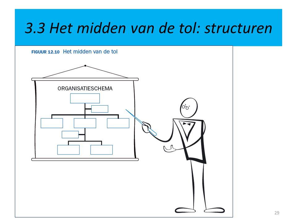 3.3 Het midden van de tol: structuren 29