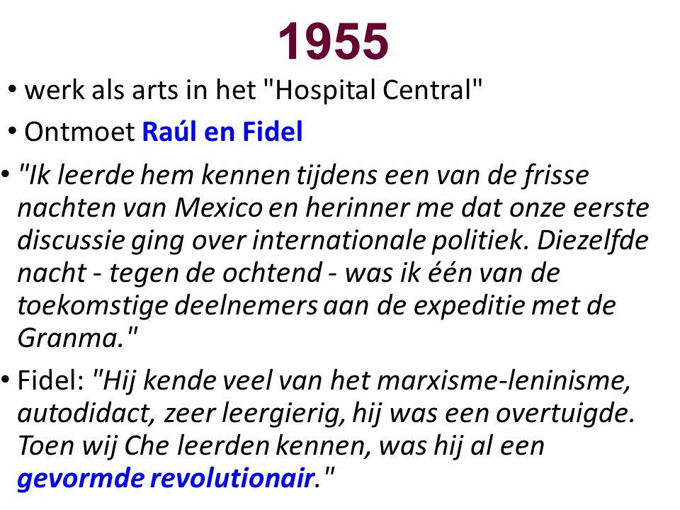1955 • werk als arts in het