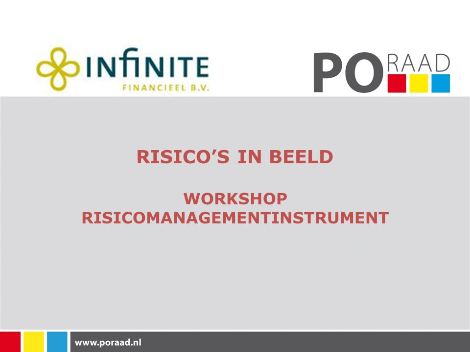 RISICO'S IN BEELD