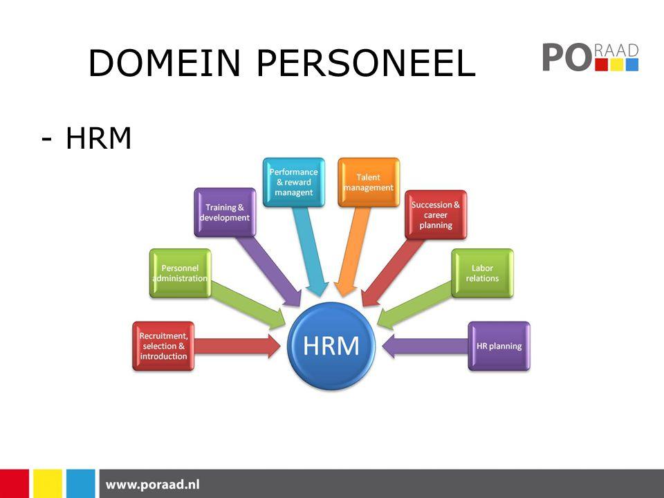 DOMEIN PERSONEEL -HRM