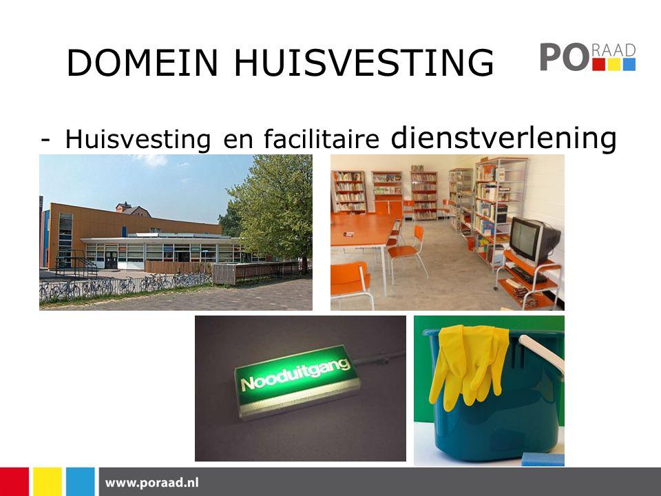 DOMEIN HUISVESTING -Huisvesting en facilitaire dienstverlening