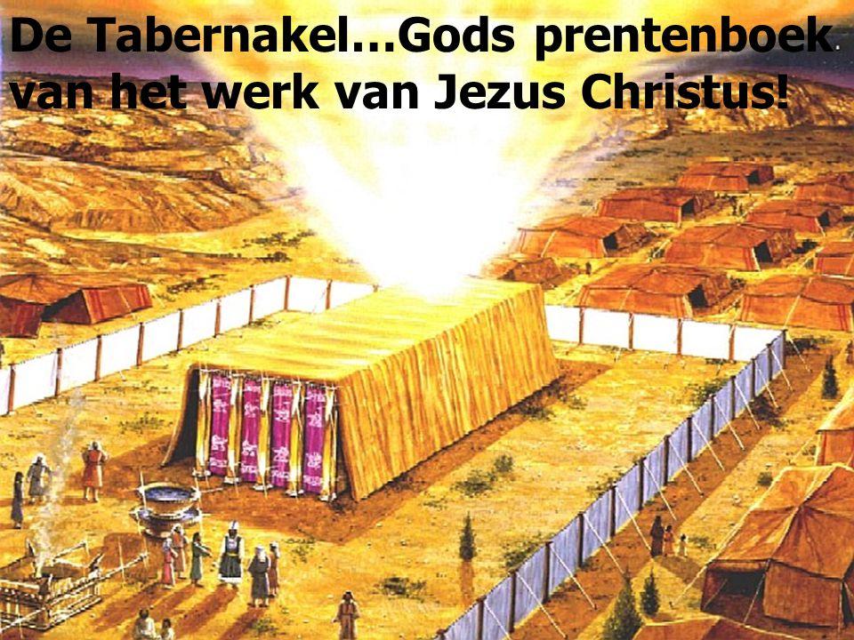 De Tabernakel…Gods prentenboek van het werk van Jezus Christus!