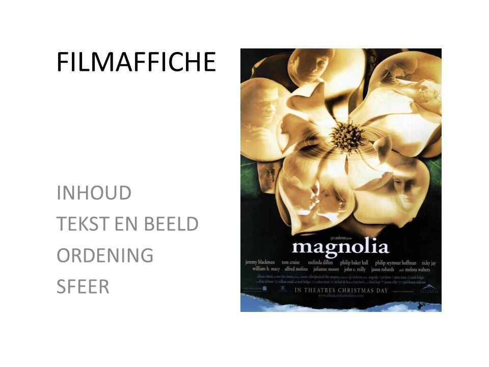 • Filmpje over wat een goed filmaffiche is, met interviews 0.00 -8.20 min.
