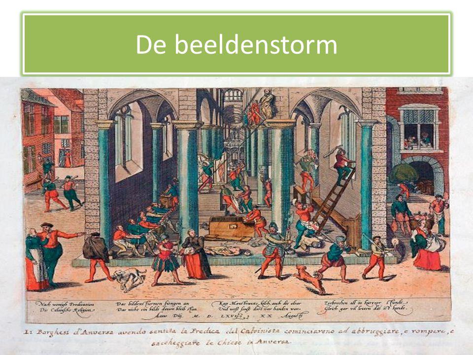 De 80- jarige oorlog • In 1566, meer dan vierhonderd jaar geleden, zijn veel mensen boos.