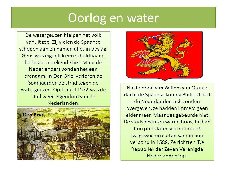 Nog steeds oorlog Prinsgezinden en staatsgezinden Johan van Oldenbarnevelt.