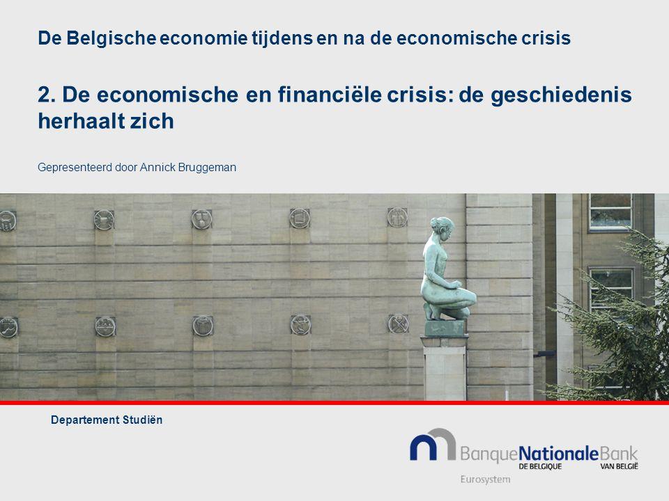 De Belgische economie tijdens en na de economische crisis 2.