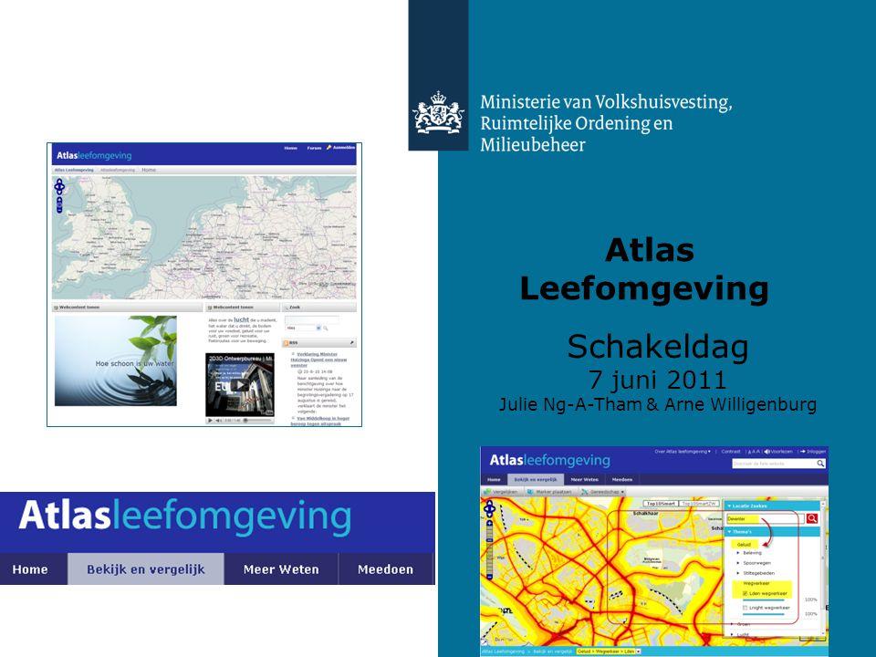 Atlas Leefomgeving Schakeldag 7 juni 2011 Julie Ng-A-Tham & Arne Willigenburg