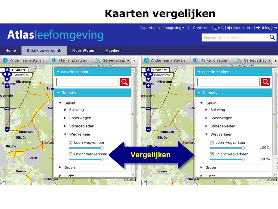 Kaarten vergelijken Schakeldag 7 juni 2011