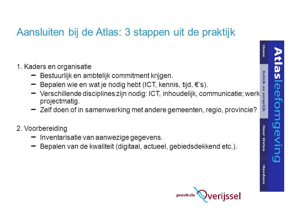 Aansluiten bij de Atlas: 3 stappen uit de praktijk 1.