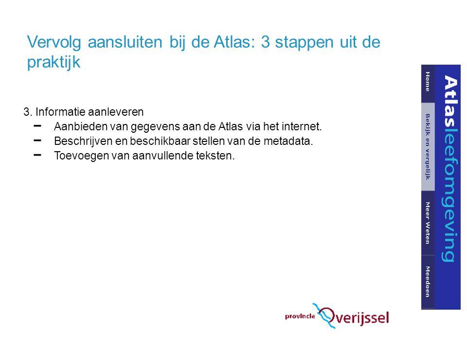Vervolg aansluiten bij de Atlas: 3 stappen uit de praktijk 3.