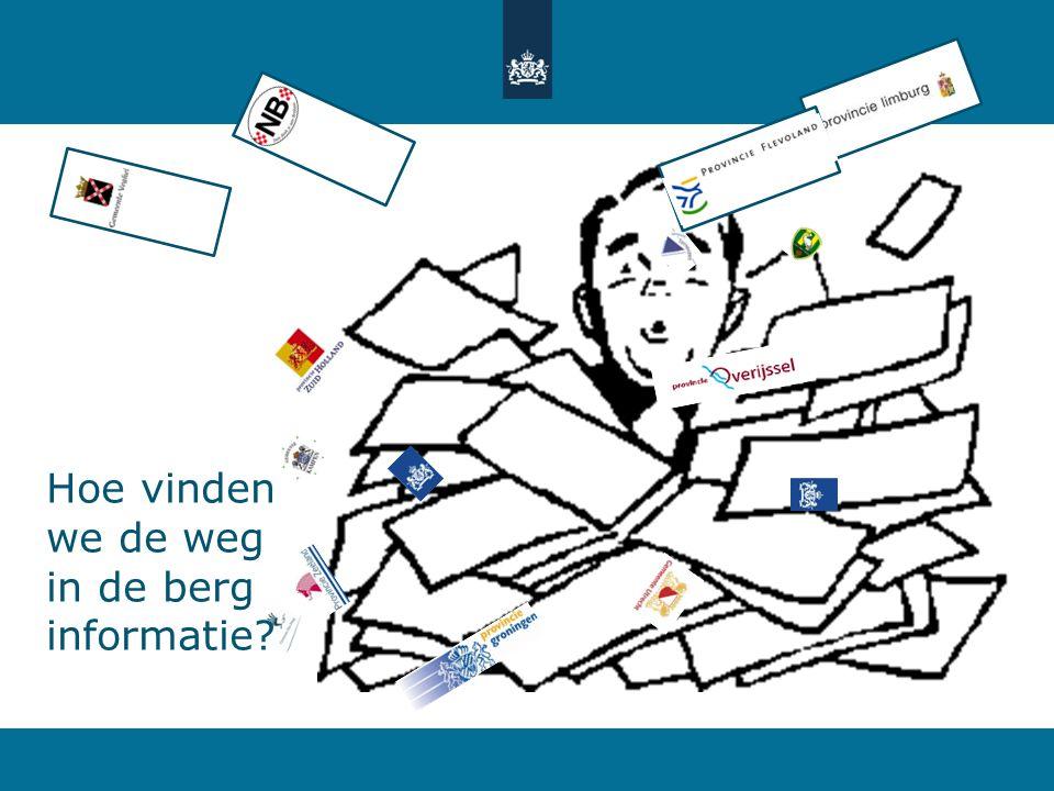 Atlas Leefomgeving: de opgave Bestaande informatie over de leefomgeving en de relatie met gezondheid en veiligheid begrijpelijk ontsluiten naar burgers en professionals Toekomst bestendig: dus digitaal