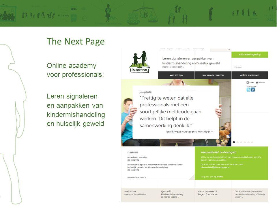 Online academy voor professionals: Leren signaleren en aanpakken van kindermishandeling en huiselijk geweld