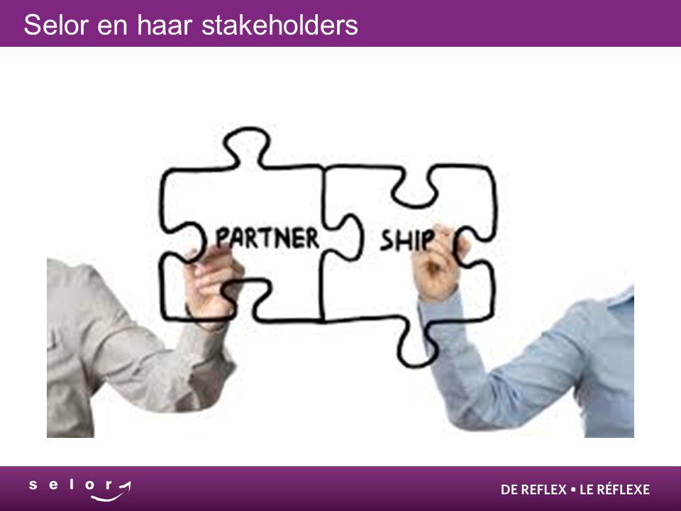 Selor en haar stakeholders