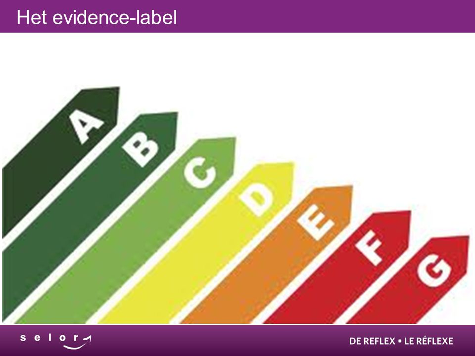 Het evidence-label