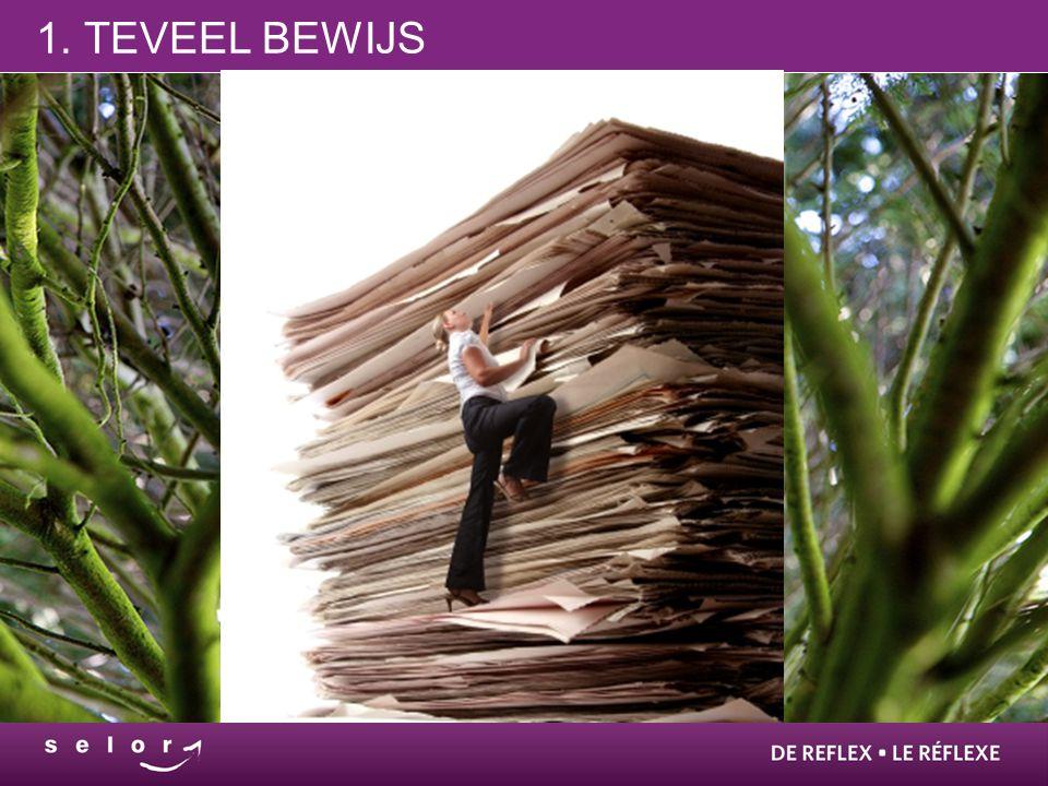 1. TEVEEL BEWIJS