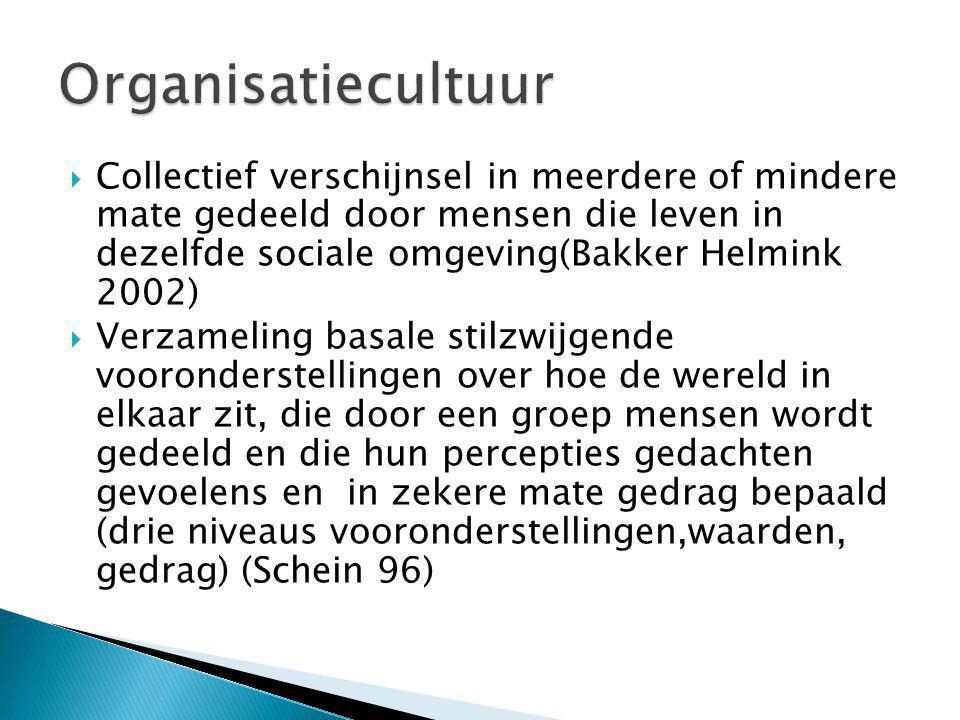 Collectief verschijnsel in meerdere of mindere mate gedeeld door mensen die leven in dezelfde sociale omgeving(Bakker Helmink 2002)  Verzameling ba