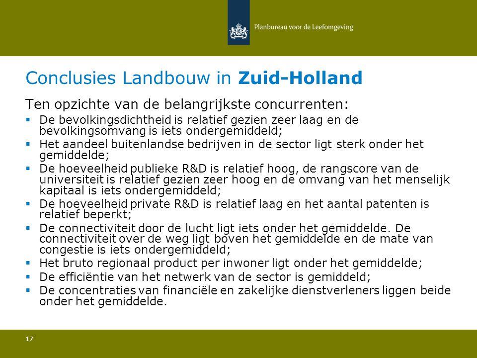 Aantal buitenlandse bedrijven: Zuid-Holland is de 31e regio van de 256 in Europa 18 2.