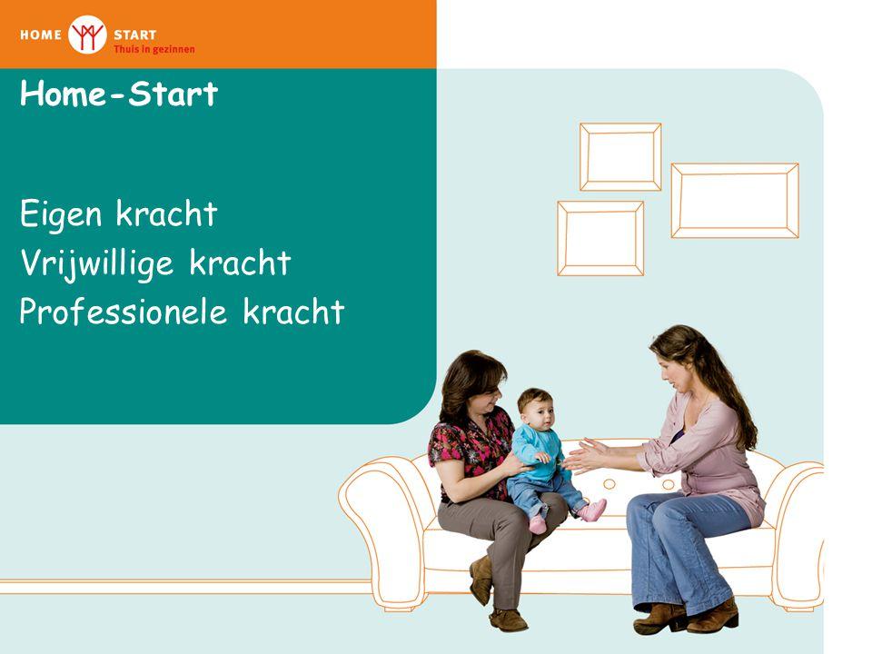 Home-Start Eigen kracht Vrijwillige kracht Professionele kracht