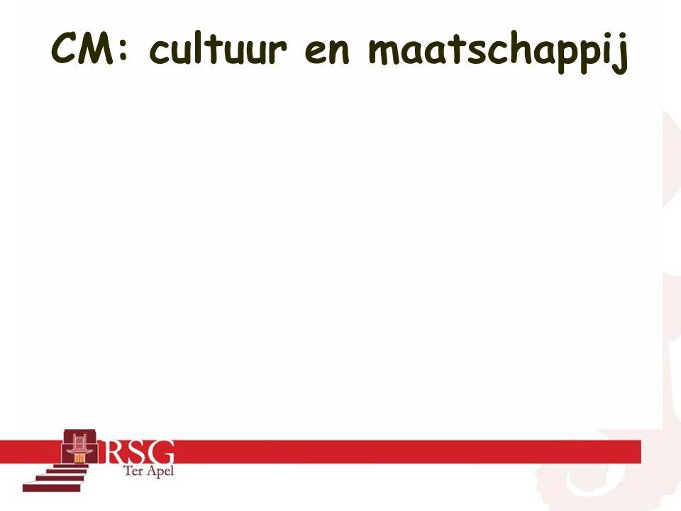 CM: cultuur en maatschappij