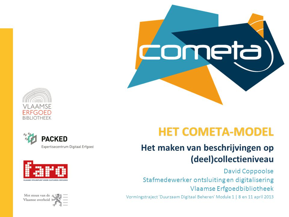 2013-04-11 72 | TA COLLECTIEWIJZER – RSLP-CD – COMETA