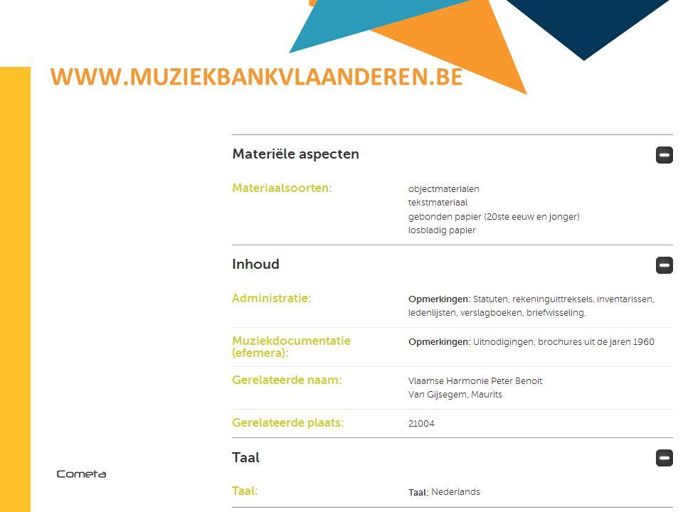 2013-04-11 86 | WWW.MUZIEKBANKVLAANDEREN.BE