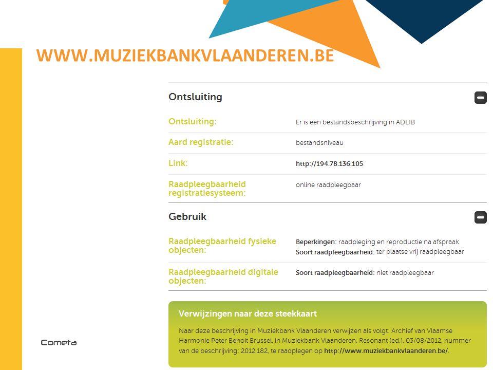 2013-04-11 87 | WWW.MUZIEKBANKVLAANDEREN.BE