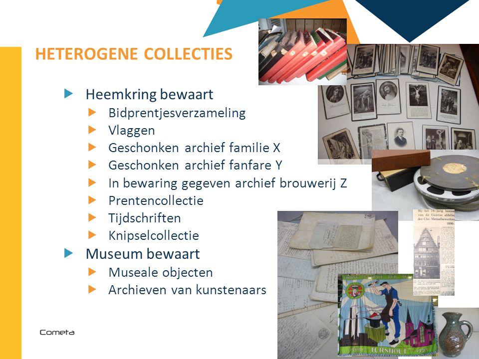 2013-04-11 92 | HETEROGENE COLLECTIES  Heemkring bewaart  Bidprentjesverzameling  Vlaggen  Geschonken archief familie X  Geschonken archief fanfa