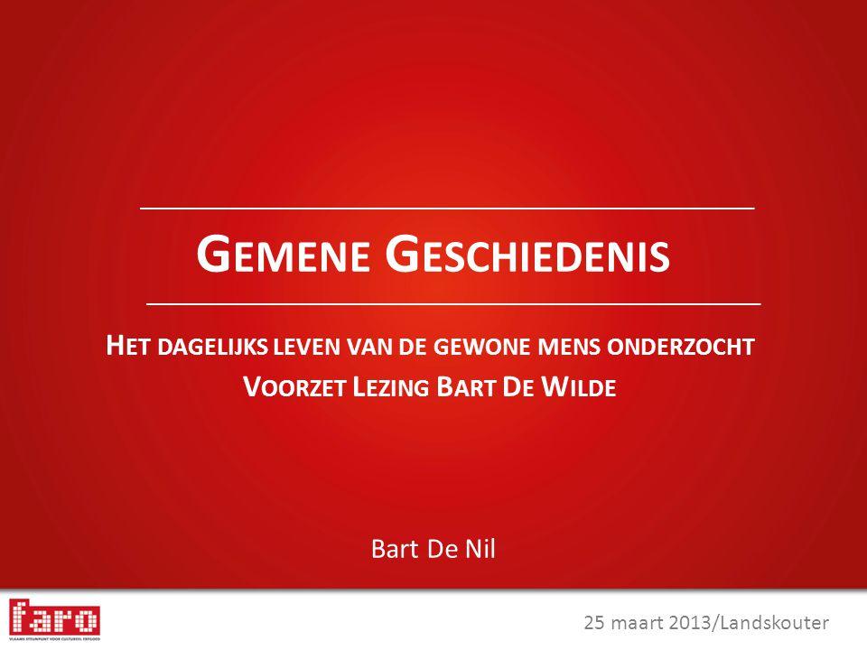 M EER INFO ? Bart De Nil bart.denil@faronet.be www.faronet.be