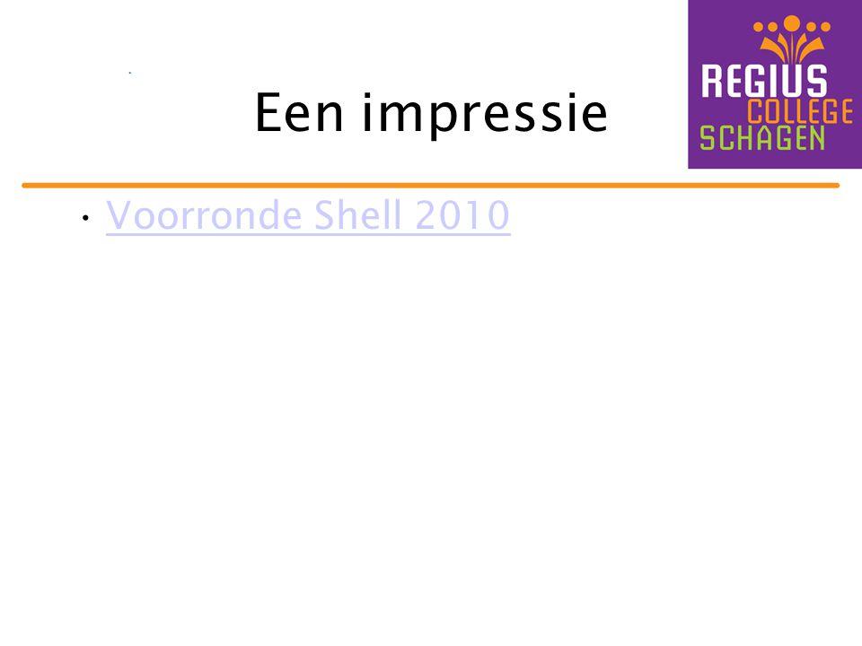 Een impressie •Voorronde Shell 2010Voorronde Shell 2010