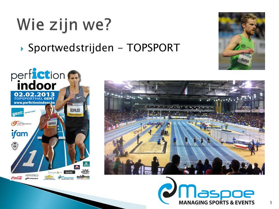 5  Sportwedstrijden - TOPSPORT
