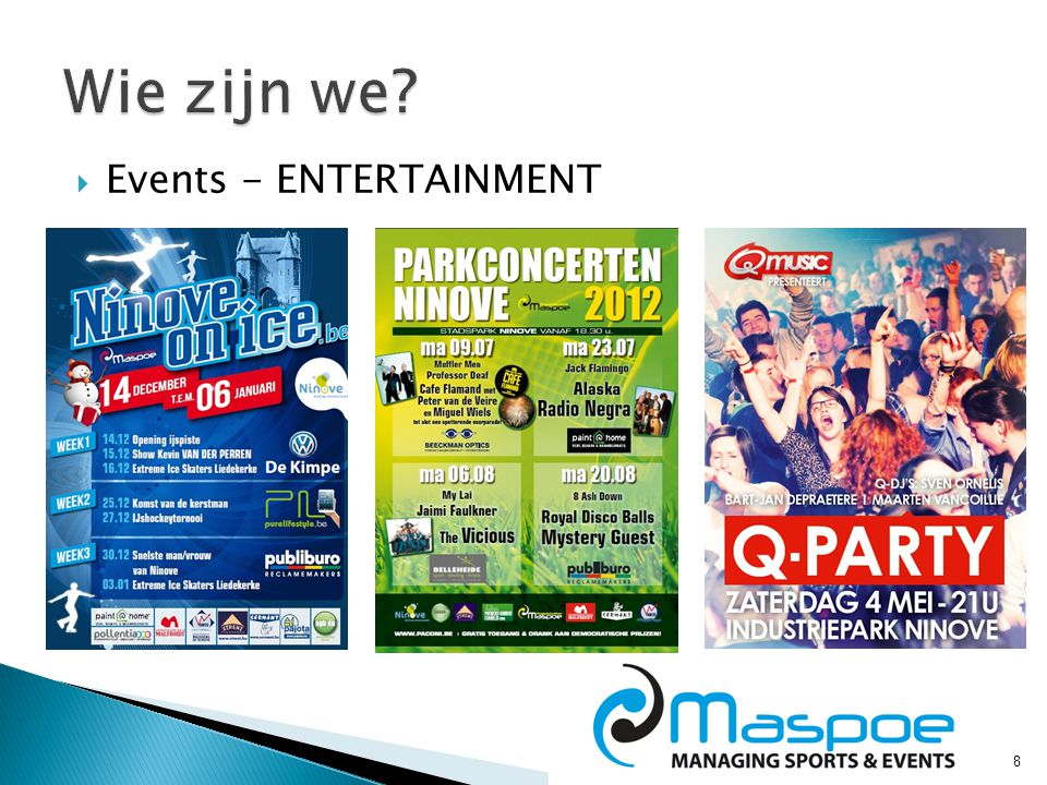 8  Events - ENTERTAINMENT
