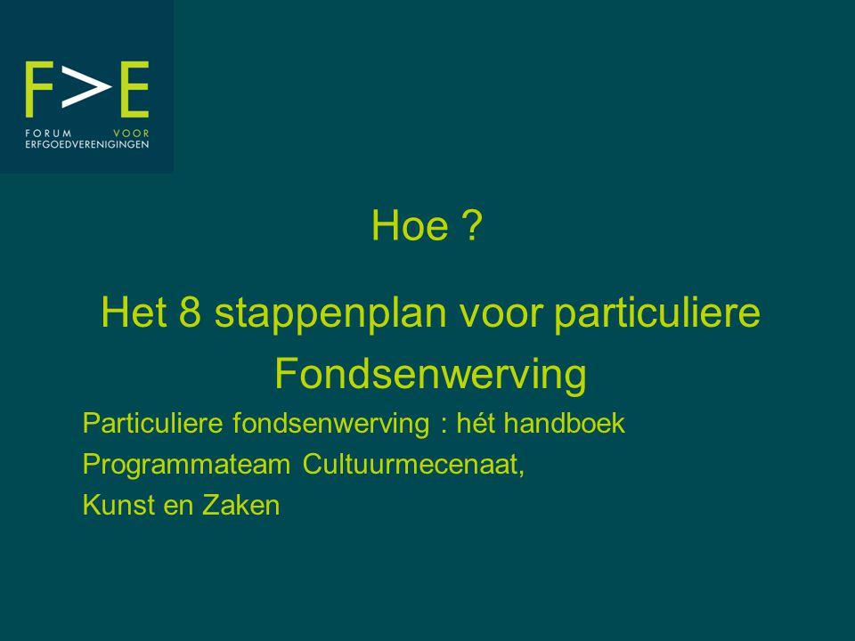 F ORUM VOOR E RFGOEDVERENIGINGEN VZW Erfgoedhuis Den Wolsack | Oude Beurs 27 | 2000 Antwerpen T: 03/212 29 60 | F: 03/212 29 61 info@forumerfgoedverenigingen.be | www.forumerfgoedverenigingen.be