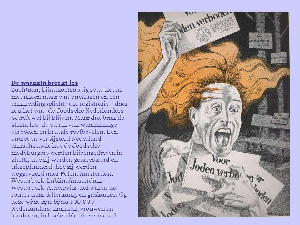 """""""In dit teeken…!"""" Nederland, een land met een in vergelijking met vele andere landen hoogen socialen standaard, met een goed georganiseerde arbeidersb"""
