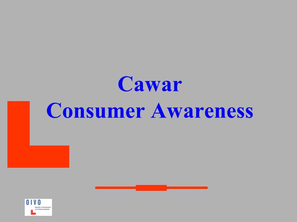 Doelstellingen  Bepalen wat de omvang van de problemen rond consumptie is.