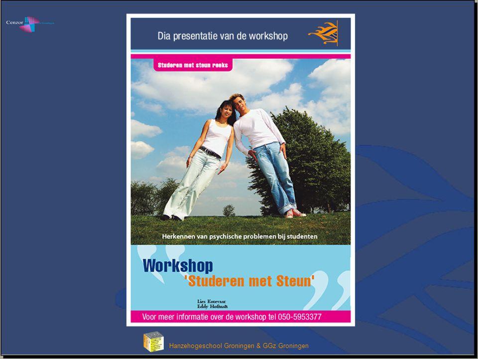 Klik om het opmaakprofiel van de modeltitel te bewerken Hanzehogeschool Groningen & GGz Groningen I.