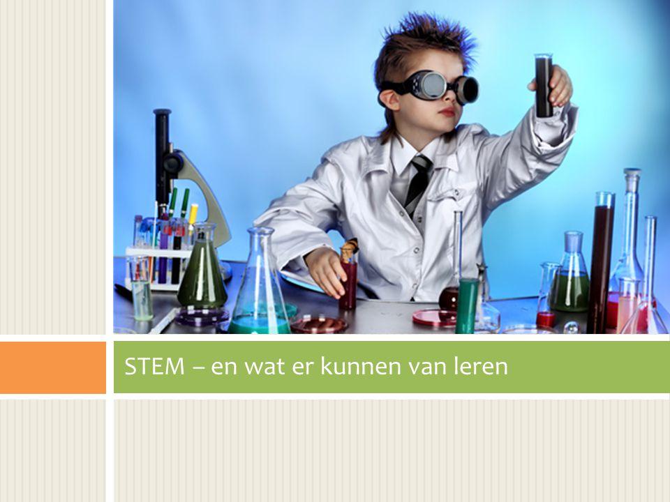 STEM – en wat er kunnen van leren