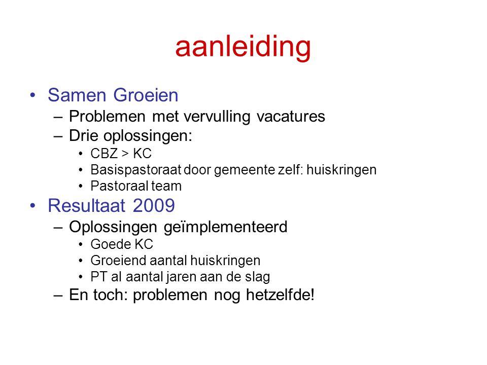 Conclusies II •Leiding berust bij de oudsten •Leiden = verantwoordelijkheid dragen •Leiden d.m.v.
