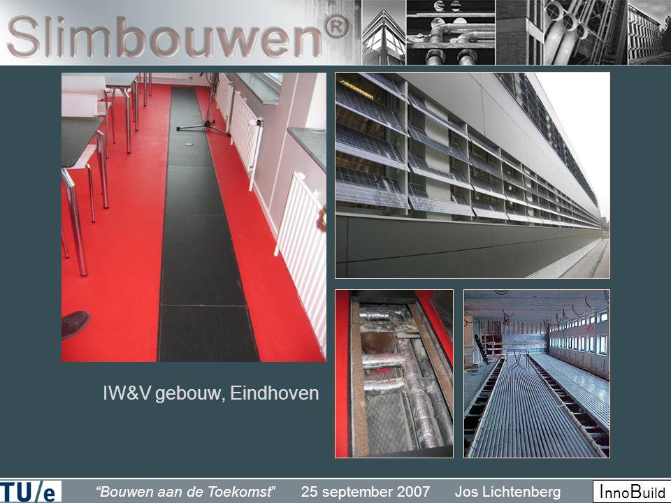 Bouwen aan de Toekomst 25 september 2007 Jos Lichtenberg I nno B uild IW&V gebouw, Eindhoven
