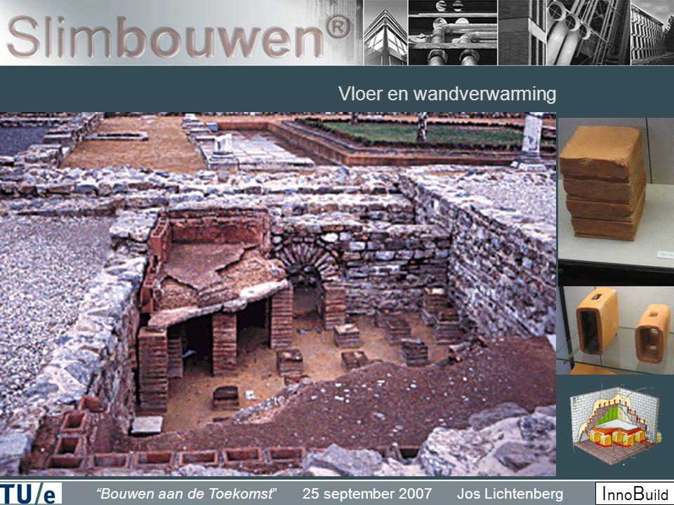 """""""Bouwen aan de Toekomst"""" 25 september 2007 Jos Lichtenberg I nno B uild Vloer en wandverwarming"""