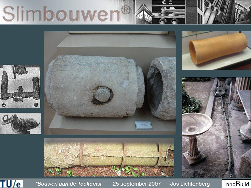Bouwen aan de Toekomst 25 september 2007 Jos Lichtenberg I nno B uild
