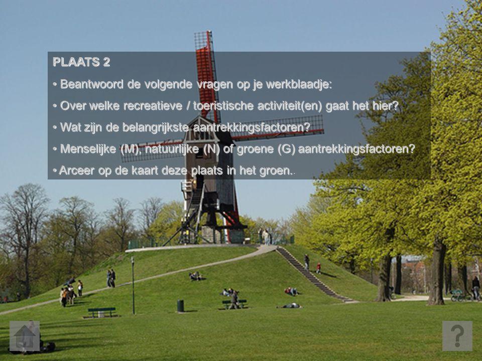 © 2007 Tim Van Ranst PLAATS 2 • Beantwoord de volgende vragen op je werkblaadje: • Over welke recreatieve / toeristische activiteit(en) gaat het hier?