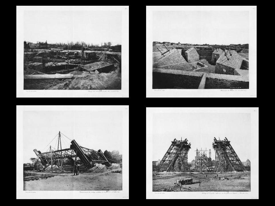 Originele foto's van de bouw