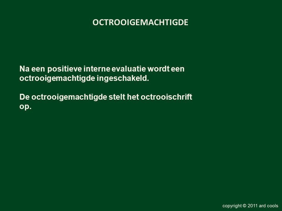 OCTROOIGEMACHTIGDE Na een positieve interne evaluatie wordt een octrooigemachtigde ingeschakeld.