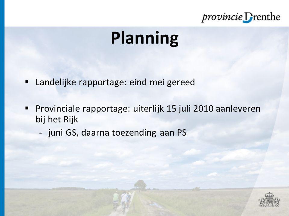 Provinciale MTR  Verhaal achter de cijfers  Zowel ILG-deel, als niet ILG-deel  Bijlagen: -PEIL -Operationele doelen -Procesinformatie -Kaarten