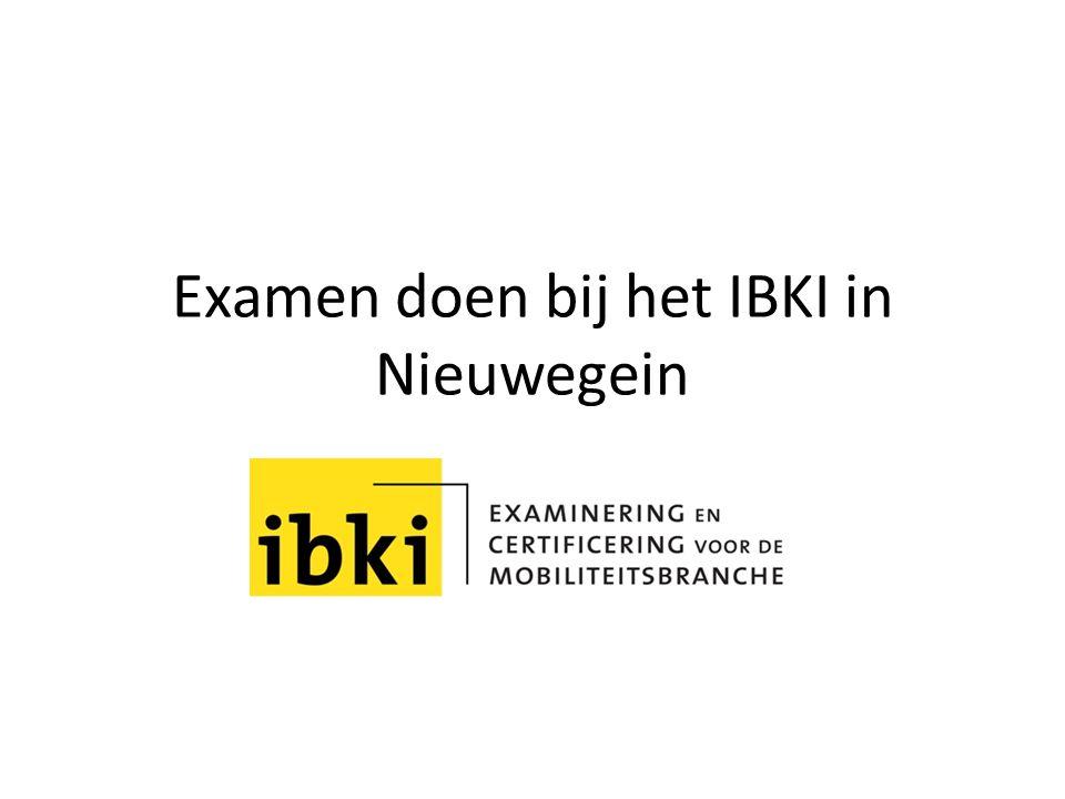 Examen doen bij het IBKI in Nieuwegein